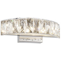 Bethel International FT40W12CH Canada LED 12 inch Chrome LED Bathroom Vanity Lighting Wall Light