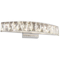 Bethel International FT41W18CH Canada LED 18 inch Chrome LED Bathroom Vanity Lighting Wall Light