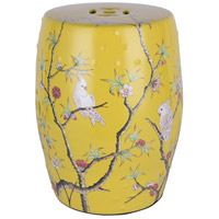 Bethel International FUM04S11Y Canada Yellow Porcelain Furniture