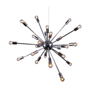 Bethel International Chrome Steel Chandeliers