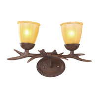 IL Series 18 inch Brown Wall Sconce Wall Light