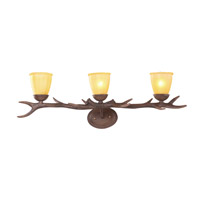IL Series 35 inch Brown Wall Sconce Wall Light