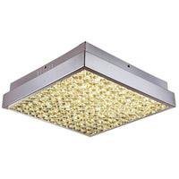 Bethel International Series LED 17 inch Chrome Flush Mount Ceiling Light