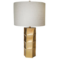 Bethel International JTL35GV-GL Jtl35 Series 29 inch 60 watt Gold Table Lamp Portable Light