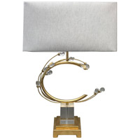 Bethel International Crystal Table Lamps