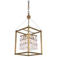 Bethel International LA11AB-10 Canada 4 Light 10 inch Antique Brass Chandelier Ceiling Light