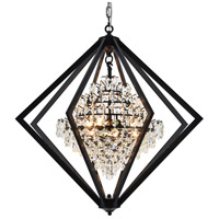 Canada 4 Light 28 inch Black Chandelier Ceiling Light
