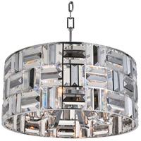 Bethel International Series 6 Light 20 inch Chrome Chandelier Ceiling Light
