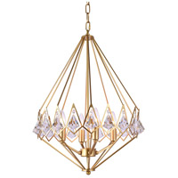 Bethel International Gold Iron Chandeliers