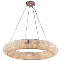 Bethel International LX52 Canada 16 Light 32 inch Chrome Chandelier Ceiling Light