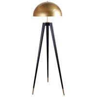 Bethel International MFL26PQ-GD Mfl26 Series 63 inch 100 watt Gold Floor Lamp Portable Light