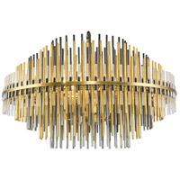 Bethel International MSF05C31G Msf Series 6 Light 32 inch Gold Pendant Ceiling Light