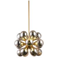 Bethel International MSF06C23G Msf Series 19 Light 24 inch Brass Pendant Ceiling Light