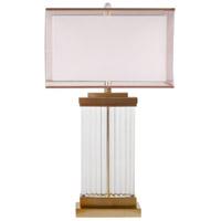 Bethel International MTL07PQ-GD+DB Canada 30 inch 100.00 watt Gold Table Lamp Portable Light