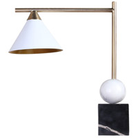 Bethel International MTL19PQ-GD Mtl19 Series 19 inch 60 watt Gold Table Lamp Portable Light