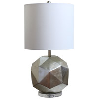 Bethel International MTL42PQ-SL Mtl42 Series 34 inch 100 watt Silver Table Lamp Portable Light