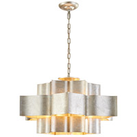 MU Series 30 inch Silver Leaf Pendant Ceiling Light