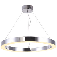 Bethel International MU30ACH Mu30 Series LED 33 inch Chrome Pendant Ceiling Light