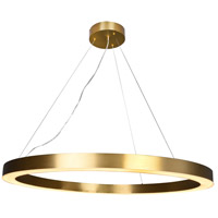 Bethel International MU30E Mu30 Series LED 43 inch Antique Brass Pendant Ceiling Light