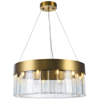 Bethel International MU67 Mu Series 9 Light 24 inch Gold Chandelier Ceiling Light