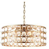 Bethel International MU70 Mu Series 8 Light 26 inch Gold Chandelier Ceiling Light