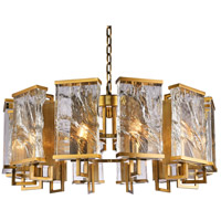 Bethel International MU76 Mu Series 12 Light 32 inch Brass Chandelier Ceiling Light
