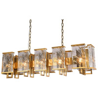 Bethel International MU77 Mu Series 12 Light 11 inch Brass Chandelier Ceiling Light