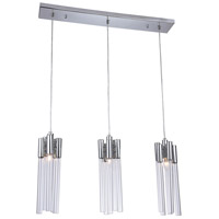 Bethel International MU79C31C Canada 3 Light 31 inch Chrome Kitchen Island Lighting Ceiling Light