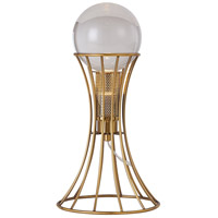 Bethel International MU94T8BR Canada 16 inch 25.00 watt Antique Brass Table Lamp Portable Light
