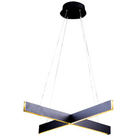 Bethel International Series LED 32 inch Light Grey Pendant Ceiling Light