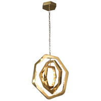 Bethel International NL48G Nl Series LED 22 inch Gold Pendant Ceiling Light