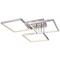 Bethel International TR38 Tr Series LED 20 inch Chrome Flush Mount Ceiling Light