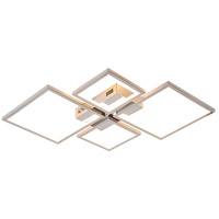 Bethel International TR39 Canada LED 24 inch Chrome LED Flush Mount Ceiling Light