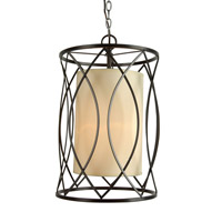 YS Series 12 inch Pendant Ceiling Light, Bronze Frame
