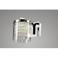 Bethel International ZP87 Canada LED 5 inch Chrome LED Wall Sconce Wall Light