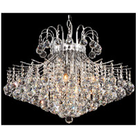 BET Series 11 Light 28 inch Chrome Chandelier Ceiling Light