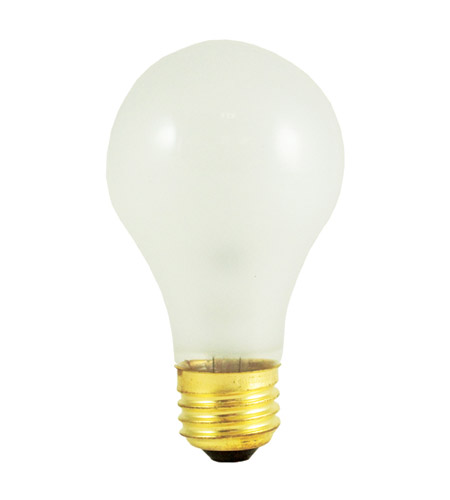 Bulbrite 100W 130V Incandescent A19 Rough Service Bulb 100A/RS photo