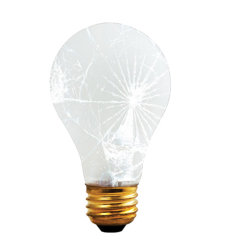 Bulbrite 100A/RS/TF Rough Service/Tough Coat Incandescent A19 E26 100 watt 130V 2700K Bulb photo