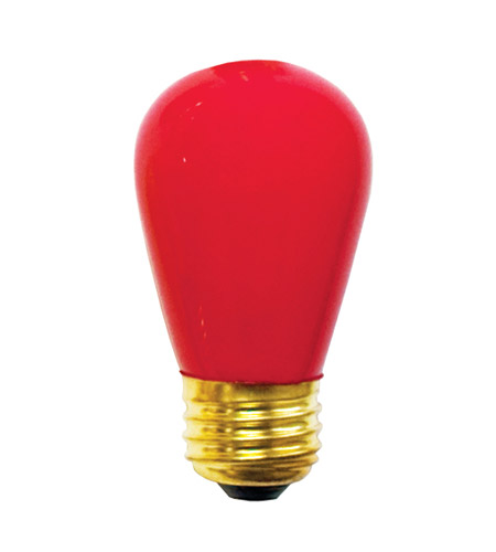 Bulbrite Ceramic Red Light Bulbs