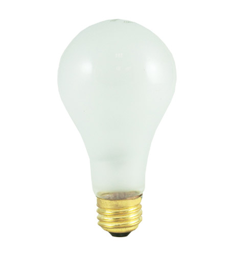 Bulbrite 150-Watt High Lumen Incandescent A21, Medium Base, Frost 150A/HL photo