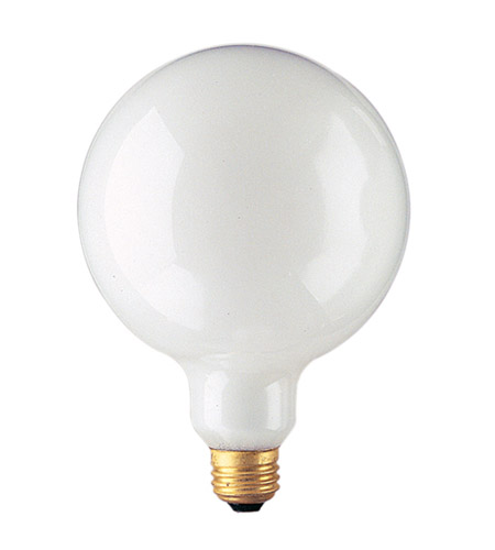 Bulbrite 150G40WH Globes Incandescent G40 E26 150 watt 125V 2700K Bulb in White photo