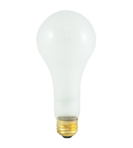 Bulbrite 200A/HL General Service Incandescent A23 E26 200 watt 120V 2700K Bulb in Frost photo