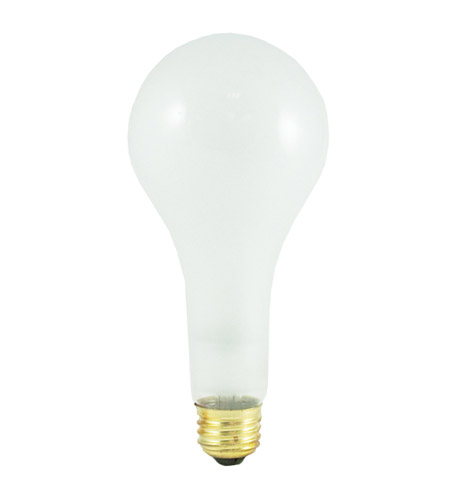 Bulbrite 300PS25 General Service Incandescent Incandescent E26 300 watt 130V 2700K Bulb in Frost photo