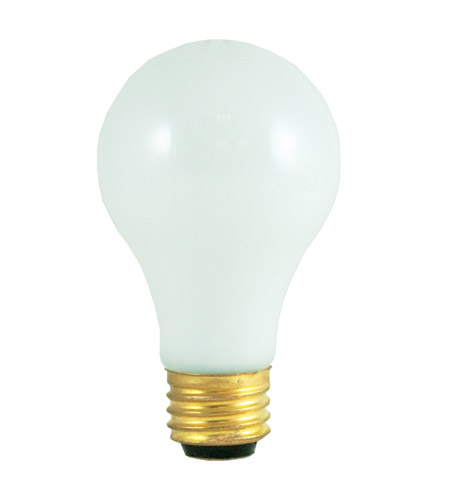 Bulbrite 3-Way Standard Incandescent A19 Lightbulb, Soft White 30/100