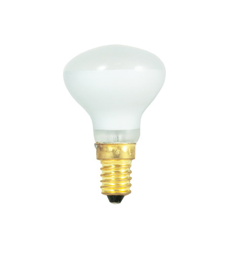 Bulbrite 40R14/E14-10PK Mini-Reflectors Incandescent R14 E14 40 watt 130V 2700K Bulb, Pack of 10 photo