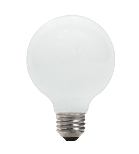 Bulbrite 43-Watt Dimmable Eco Halogen G25 Globe, Medium Base, Soft White 43G25SW/ECO