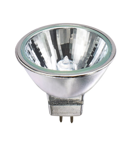 Bulbrite 50MR16C/CG25 Halogen Dimmable Halogen MR16 GU5.3 50 watt 12V 3050K Bulb in Narrow Flood photo