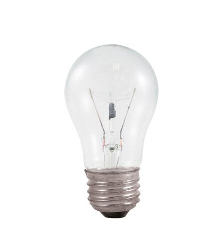 Bulbrite 60A15C Incandescent Dimmable Incandescent A15 E26 60 watt 130V 2700K Bulb in Clear photo