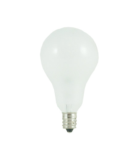 Bulbrite 60A15F/E12 General Service Incandescent A15 E12 60 watt 130V 2700K Bulb in Frost photo