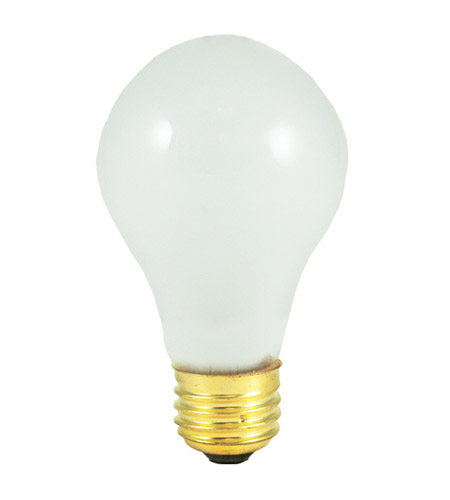 Bulbrite 60-Watt High Voltage Incandescent A19 light bulb, 220 Volt, 2-Pack 60A/220 photo